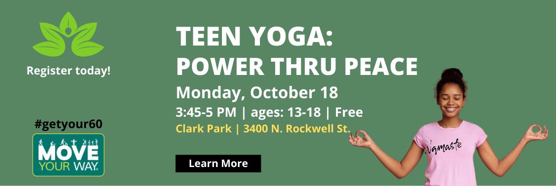 Teen Yoga: Power Through Peace