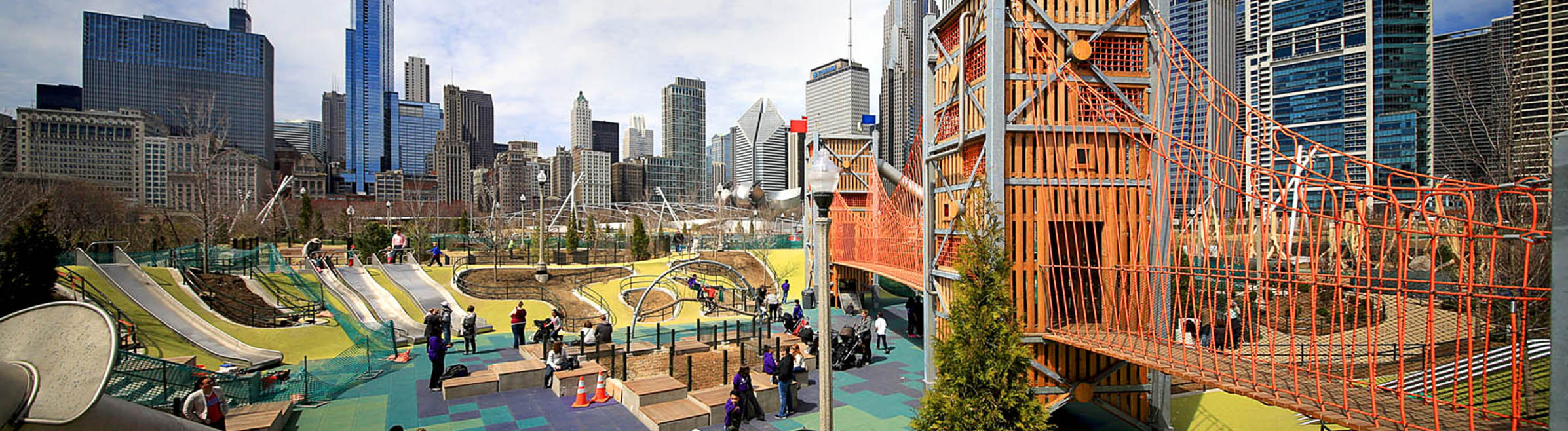 Maggie Daley Park playground