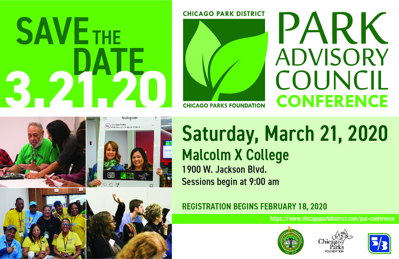 2020 Park Advisory Council Conference March 21!