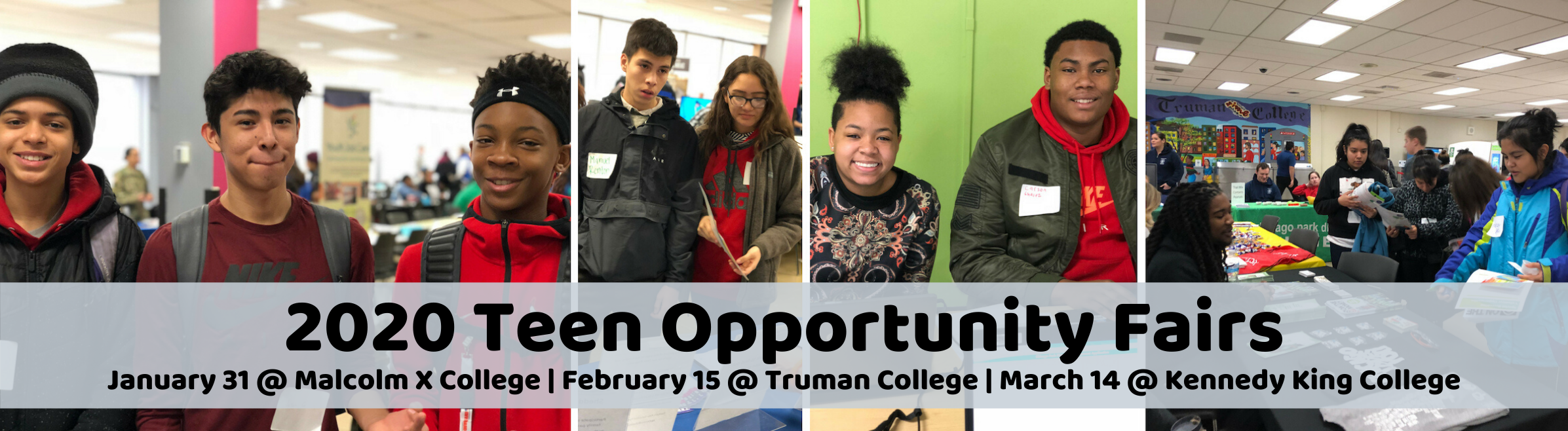 2020 Teen Opportunity Fairs