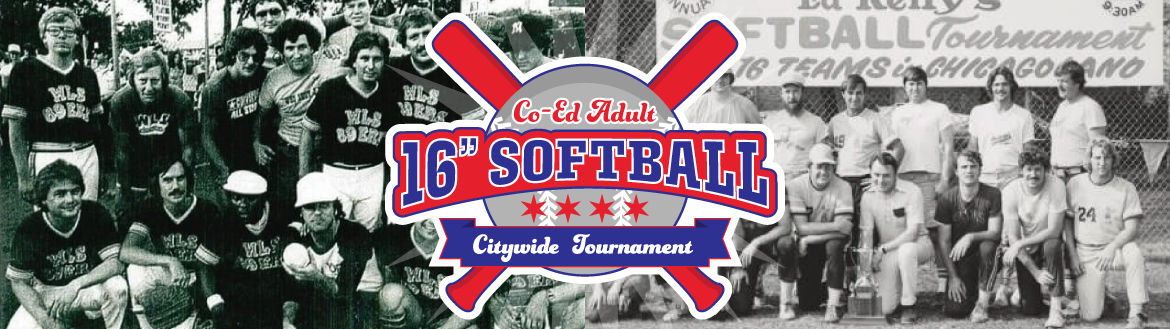 """Adult Co-Ed Softball 16"""" Citywide Tournament"""