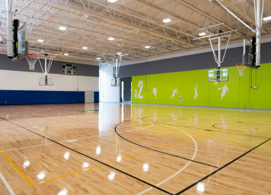 ComEd Rec Center at Addams Park - Indoor Basketball Court