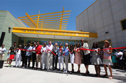 Ellis Park Opening Ribbon Cutting