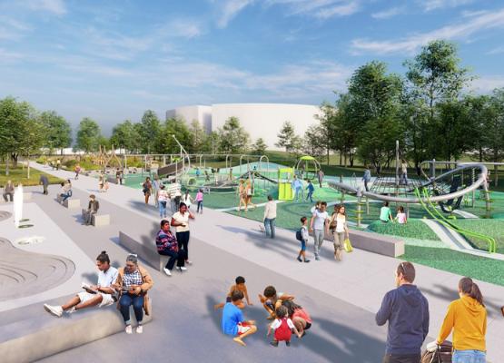 Park 596 Rendering - Playground
