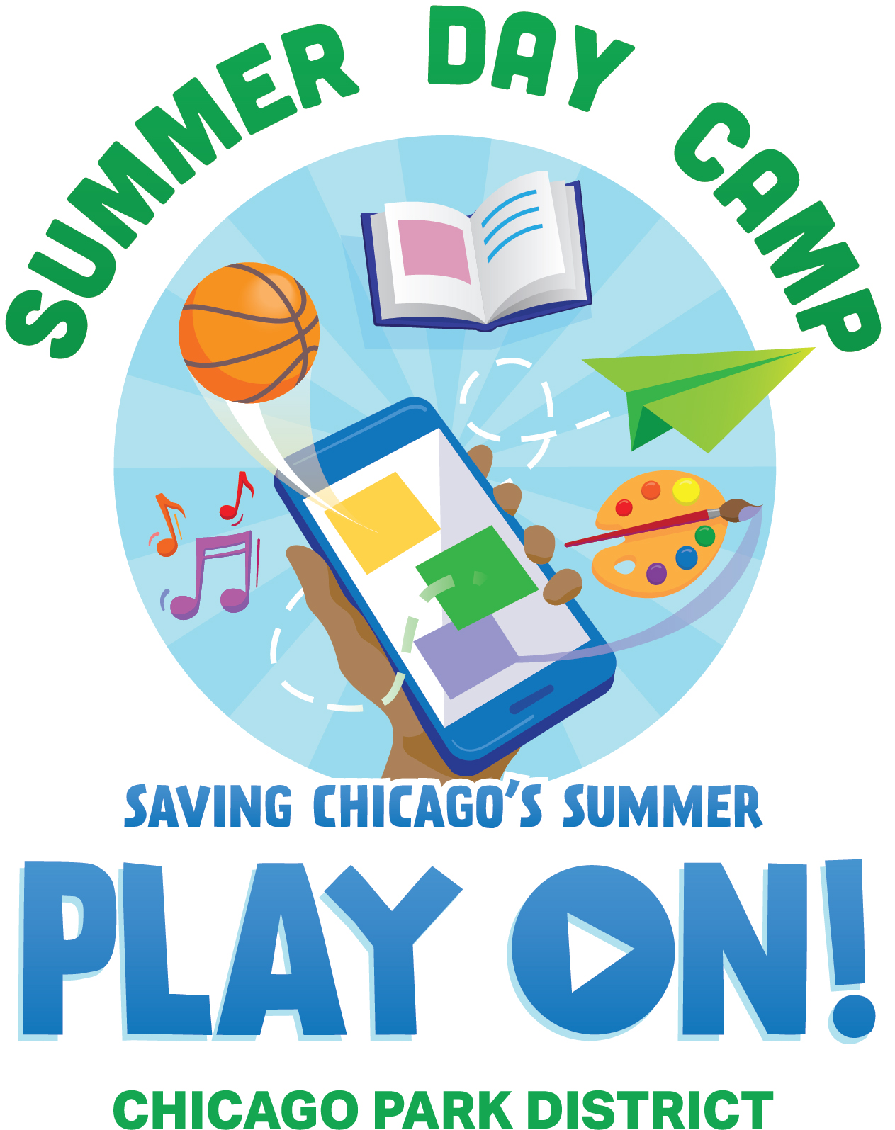 2020 Summer Day Camp Logo