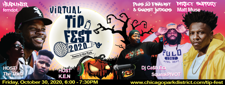 Virtual TIP (Teens in the Park) Fest