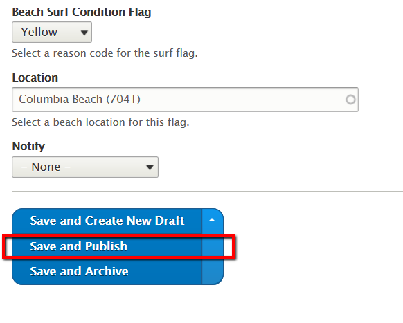 Quick Guide: Beach Conditions Publisher | Chicago Park District
