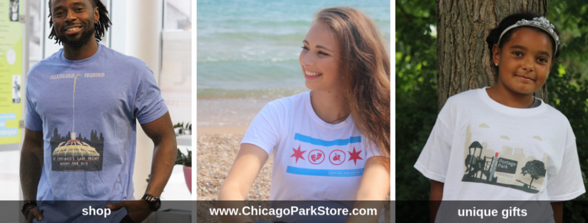 Check out these great t-shirts offered at the Chicago Park District store.