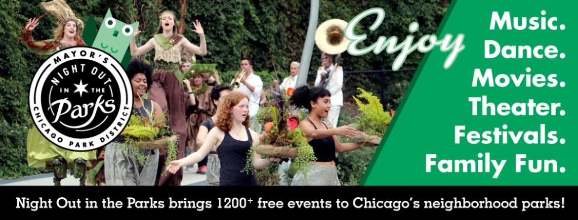 Night Out in the Parks brings 1200+ events to parks this summer.  Join us at one or more!