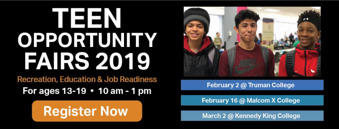 2019 Teen Opportunity Fairs