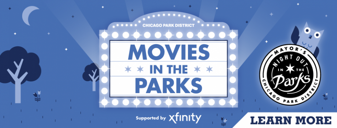 Enjoy Movies in the Parks this summer, supported by Xfinity and part of Night Out in the Parks.  Click here to see the movies lineup and learn about the public health guidelines all movie patrons must follow.