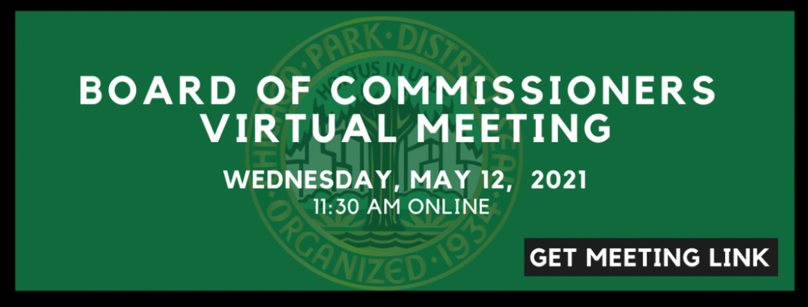 Click here for the link to watch the Board of Commissioners meeting online, Wednesday, May 12 at 11:30 am, using MS Teams or Youtube.