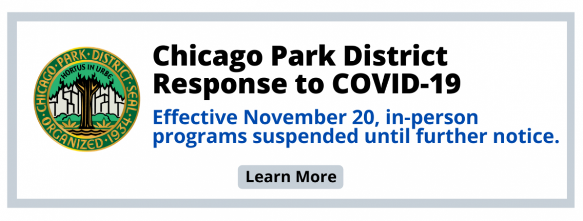 Response to COVID-19:  Effective November 20, all in-person programs are suspended until further notice.