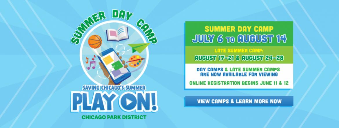 View summer camps now.  Online registration begins June 11 & 12.  Learn more by clicking on this image.