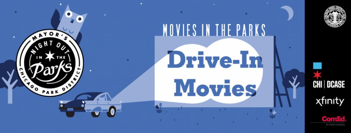 Drive in movies are coming to six parks, from August 11-27.  Pre-registration required.
