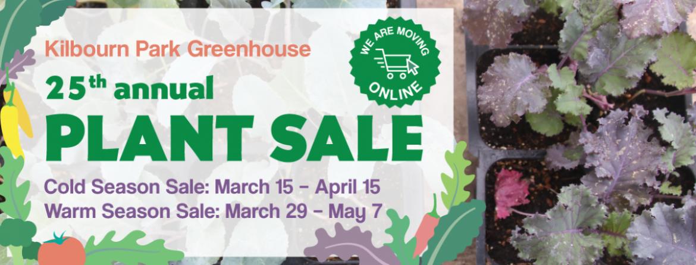 Kilbourn Greenhouse Plant Sale - 2021