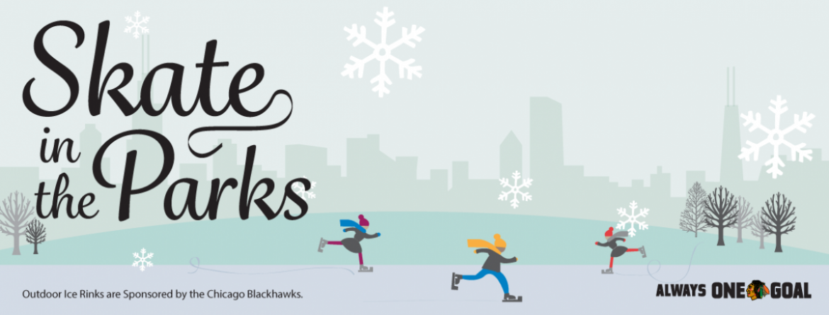 Skate in the parks at seven outdoor ice rinks located throughout the city.