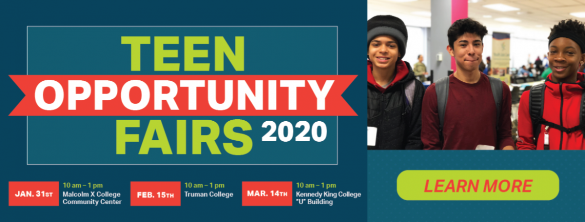 2020 Teen Opportunity Fairs