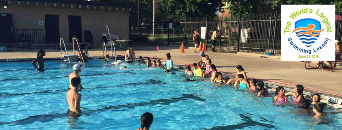World's Largest Swimming Lesson - June 21 at 6pm