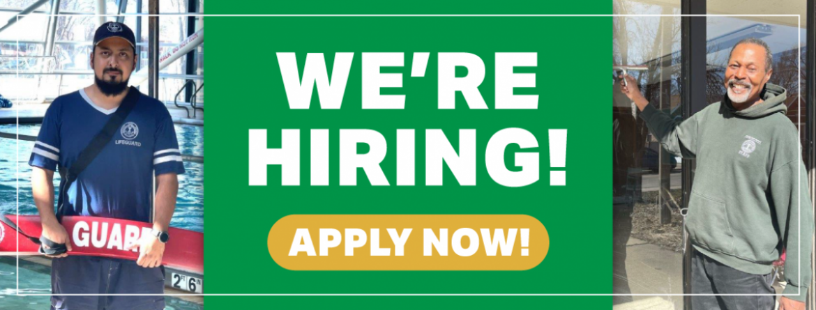 The Chicago Park District is hiring!  Click here to apply now.
