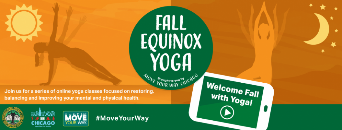 Let's welcome fall with yoga.  Join our Wellness Team for a number of free yoga classes online.