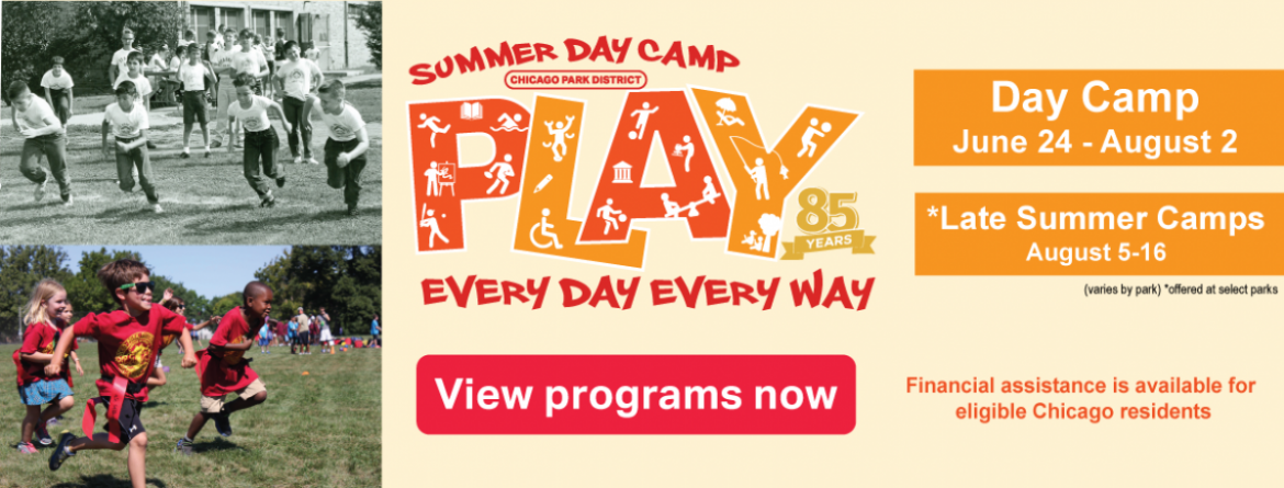 Register for summer day camp now.
