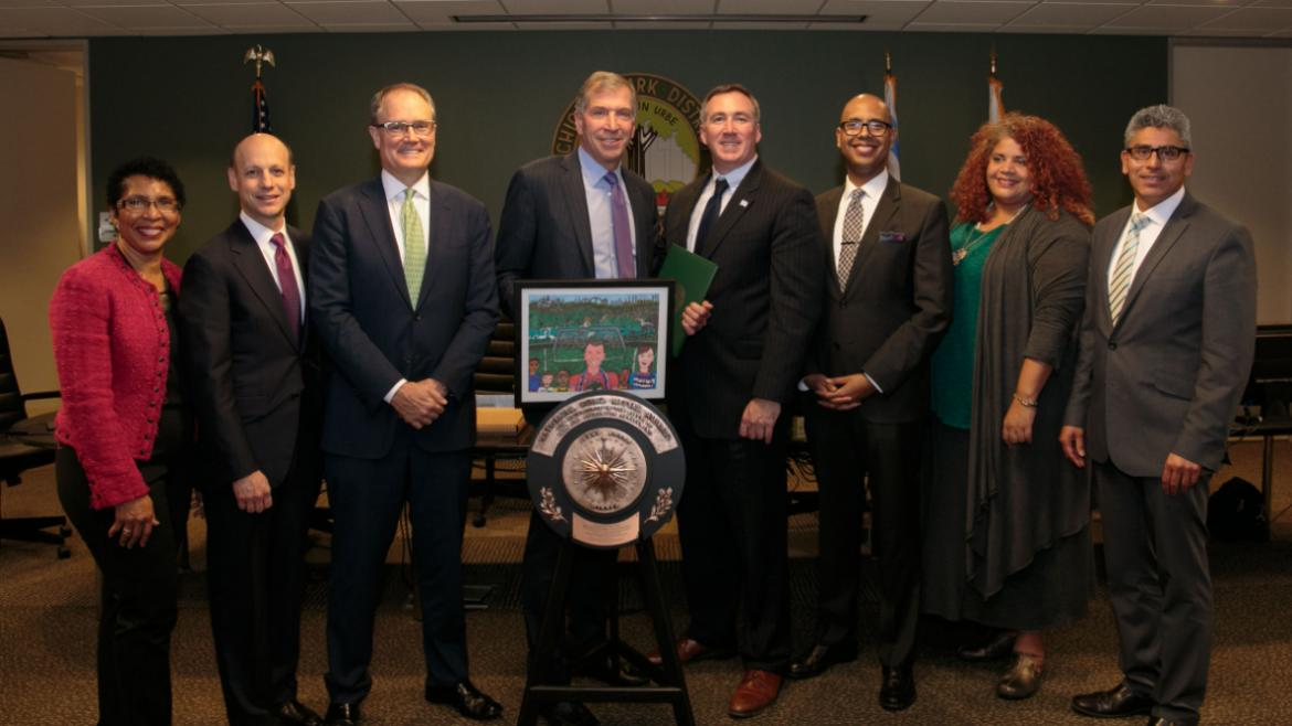 Chicago Park District Board of Commissioners and Michael Kelly, General Superintendent & CEO