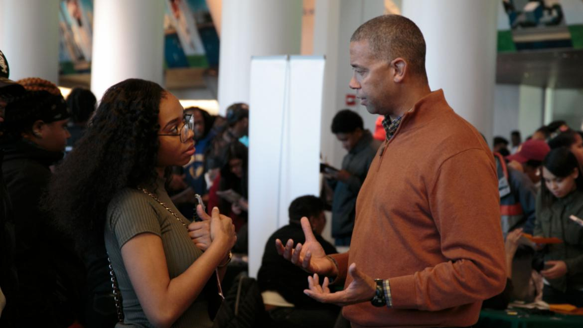 The One Summer Chicago Job Fair connects teens to future employment opportunities and prepares them