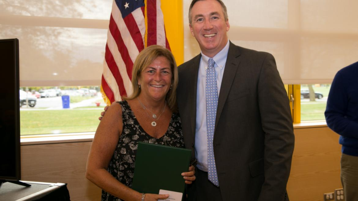 Erin Joyce, Park Supervisor of Recreation, 35 years of service.