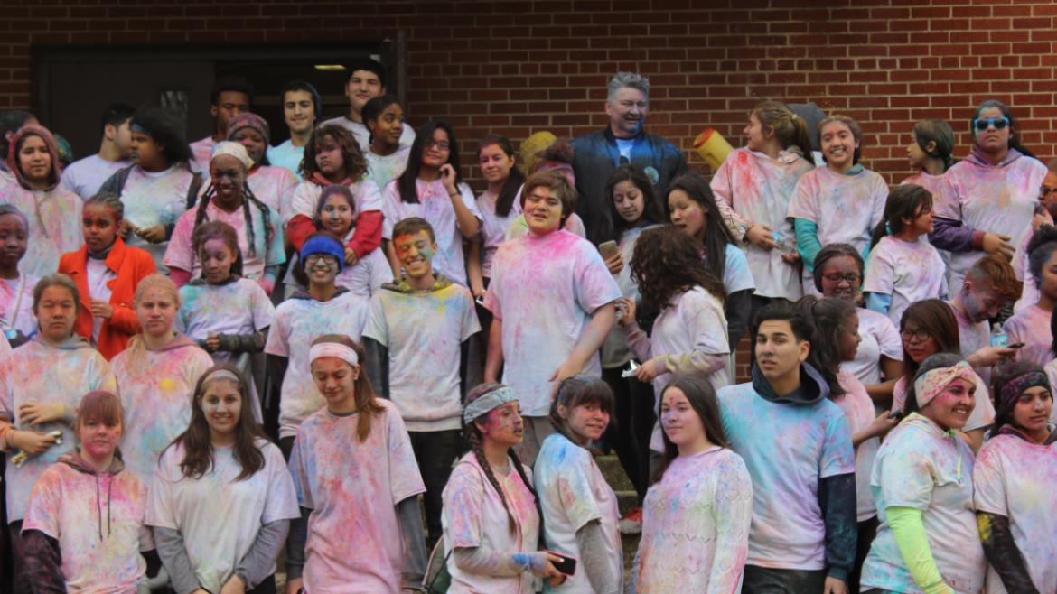 The teens are filled with color