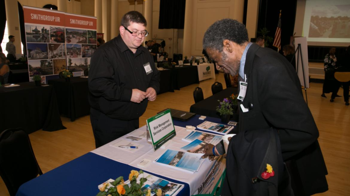 The Chicago Park District's 2017 Vendor Networking Event at South Shore Cultural Center