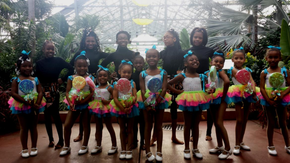 Performers at Garfield Park Conservatory!