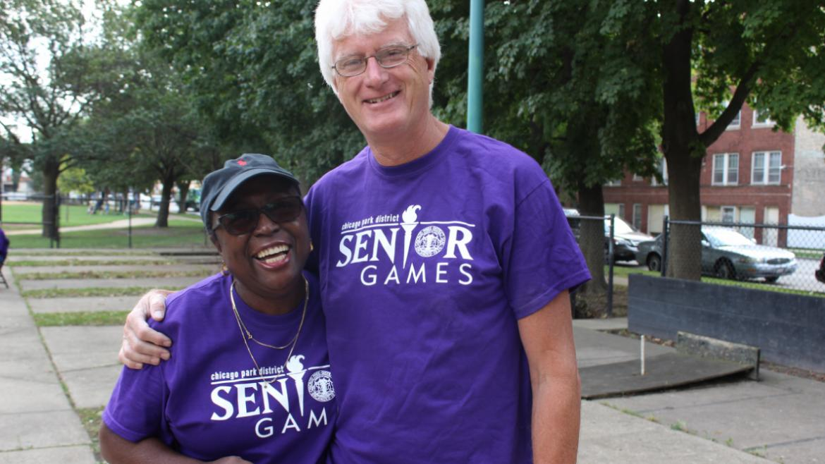 All Smiles at Senior Games!