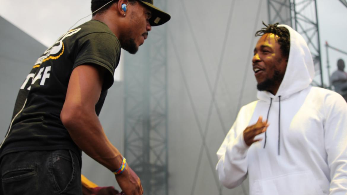 Chance the Rapper and Kendrick Lamar