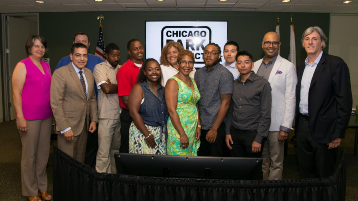 Heroic Chicago Park District lifeguards are acknowledged for their lifesaving actions.