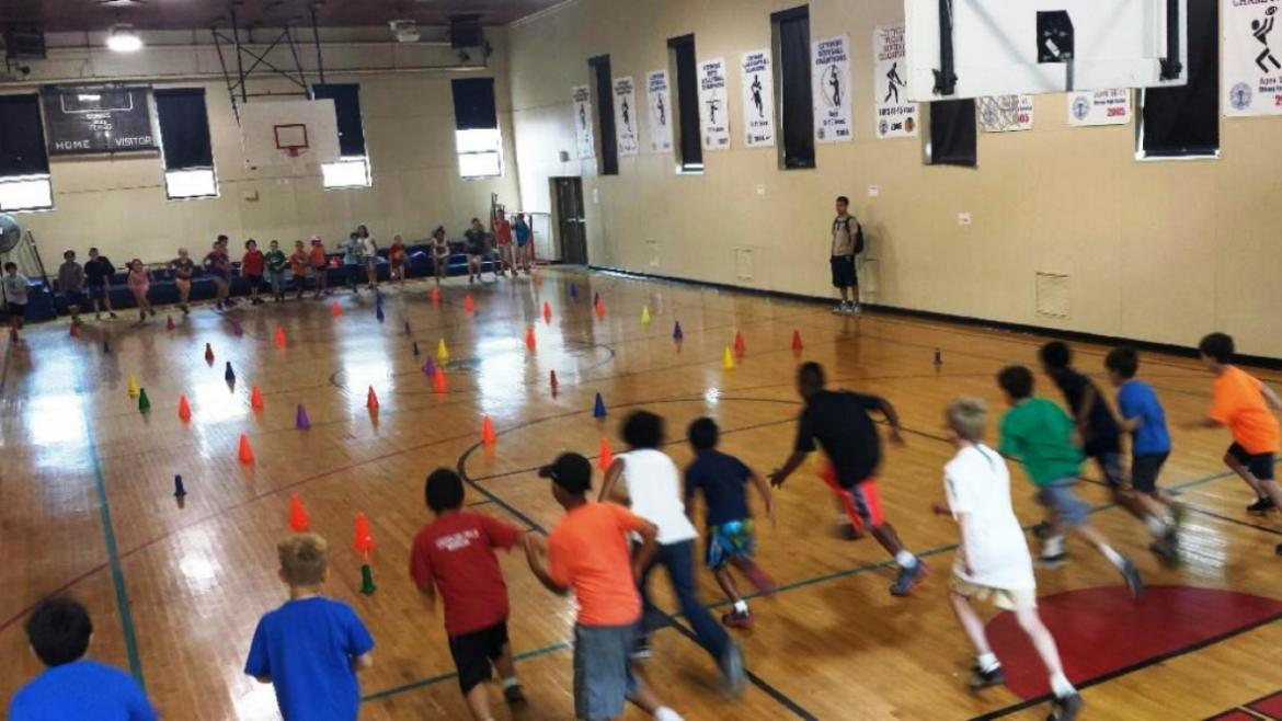 Commercial Park Campers are Ready to Play Sports