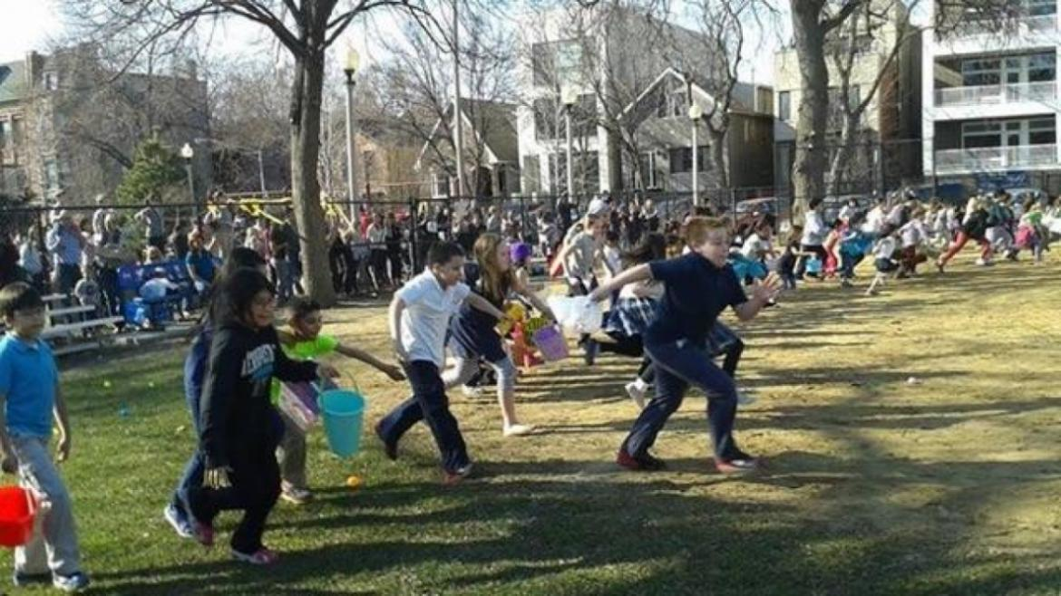Commercial Park Egg Hunt is a success!