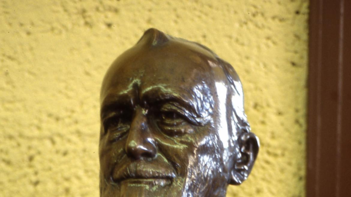The Paul Cornell Bust is in excellent condition today.  It has been conserved.