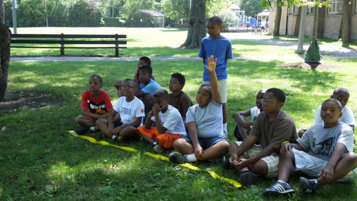 Summer of learning at Graver Park