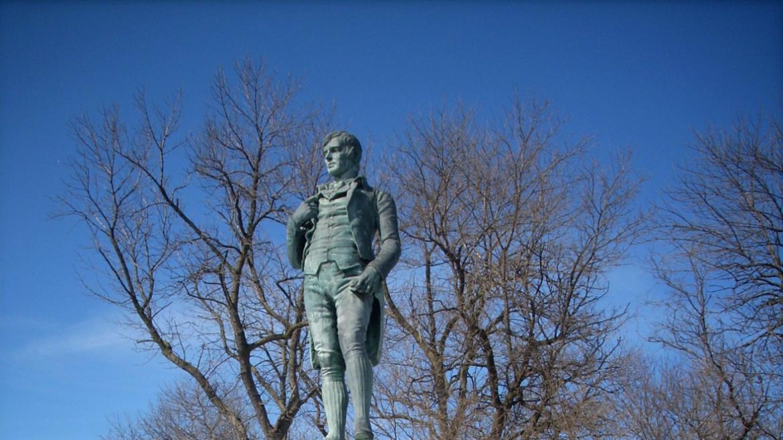 The Robert Burns Memorial's figurative sculpture has had some conservation.