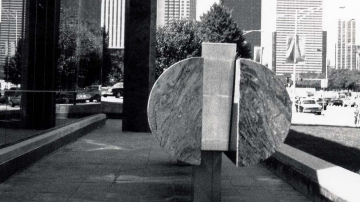 Many of Noguchi's fountains have utilized innovative technologies and materials.