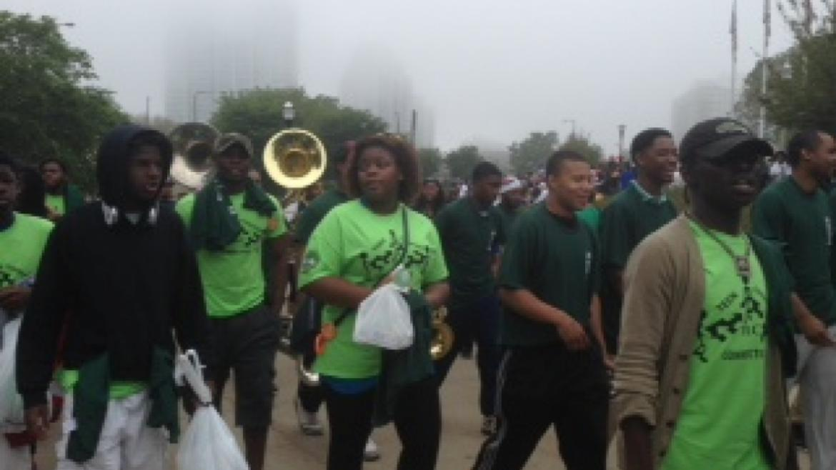 Hunger Walk at the Greater Food Depository