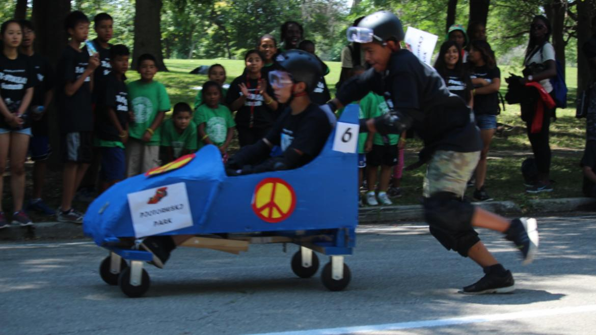 Teen X-STREAM Push Kart Competition at Garfield Park