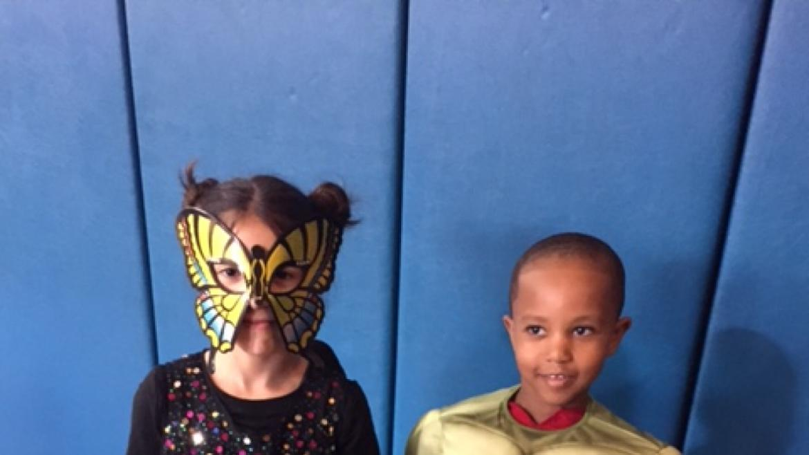 Butterfly and Hulk at Greenbriar!