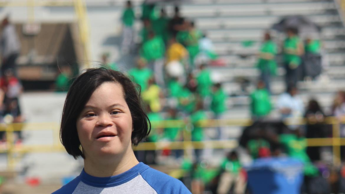 Kosciuszko Park Special Olympic Participant