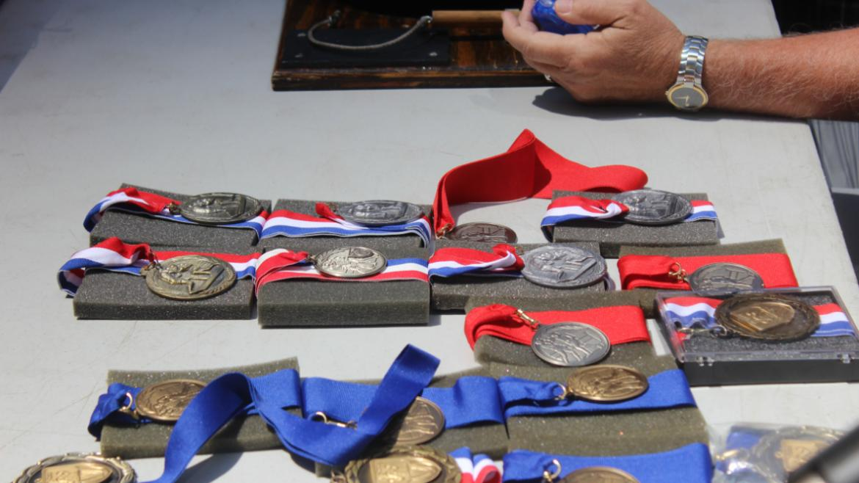 Boxing medals