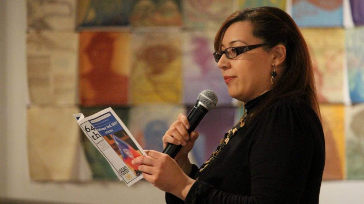 Junior Citizen committee leader and Wicker Park supervisor Clare Rodriguez