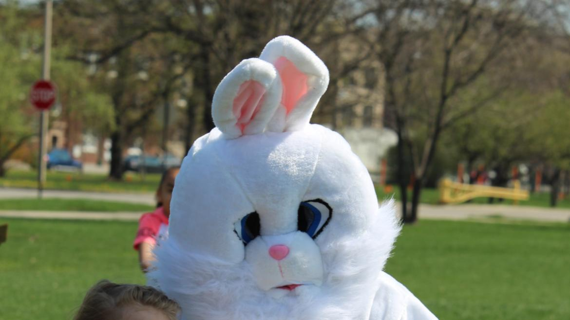 Partying with the Bunny at Humboldt Park