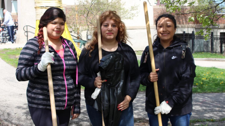 Humboldt Park volunteers!