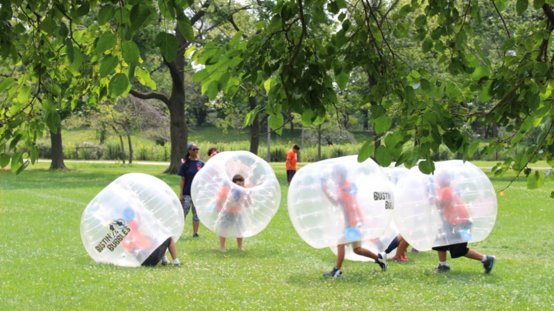 Inflatable fun!